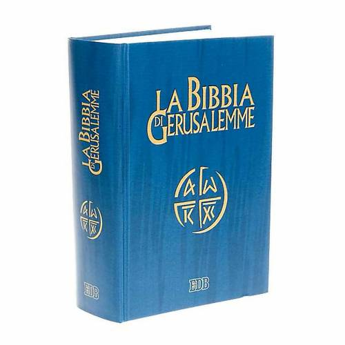 Bible Jérusalem, nouvelle traduction, grand format ITA s1
