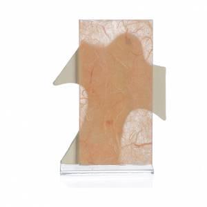 Bonbonniere: Bild mit Kreuz heilige Familie 11,5x8cm