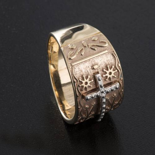 Bishop's ring in 9kt pink gold s5