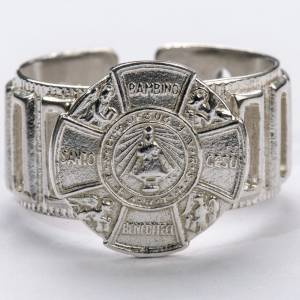 Bishop's Ring made of silver 800, Baby Jesus s3
