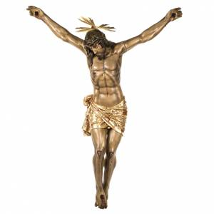 Body of Christ, 160cm in wood paste with extra decorations s1