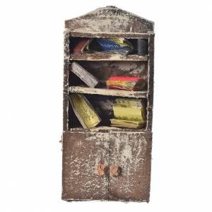 Home accessories miniatures: Bookshelf for nativity scene, 15x7x3cm