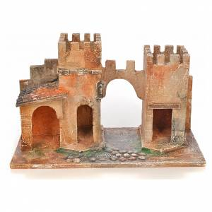 Borgo con torri presepe Fontanini 6,5 cm s1