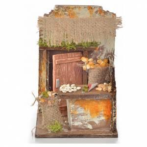 Ambientazioni, botteghe, case, pozzi: Bottega grano cm 9,5X9,5X15