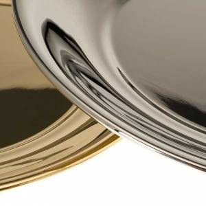 Bowl in gold-plated or palladium plated  brass s6