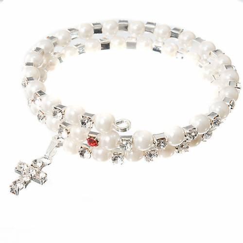 Bracelet à ressort, cristal, paillettes 4