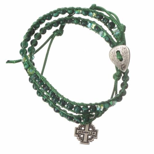 Bracelet chapelet malachite 6mm s1