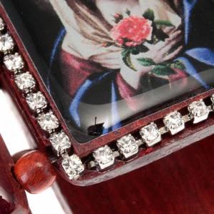 Bracelet-chapelet, images, paillettes s2