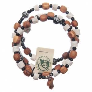 Bracelets, dizainiers: Bracelet Medjugorje ressort pierre olivier