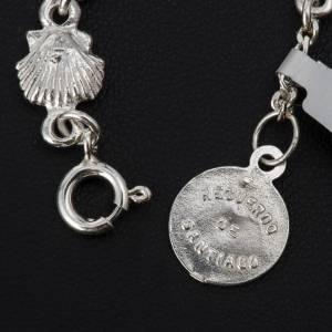 Bracelet St Jacques de Compostelle argent 800 s4