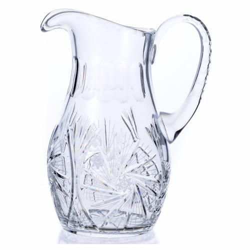 Brocca per manutergio in cristallo 2