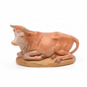 Animales para el pesebre: Buey 17 cm Fontanini