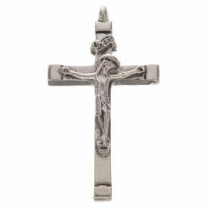Byzantine crucifix in zamak for do-it-yourself rosaries s1