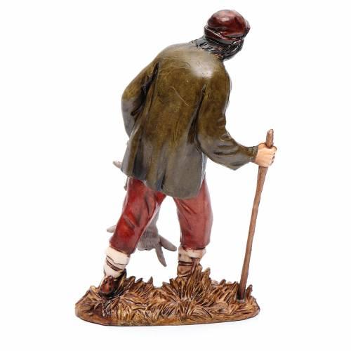 Cacciatore con lepre 12 cm Moranduzzo stile settecento s2
