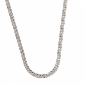Artículos Obispales: Cadena para cruz pectoral plata 925 - mod. Vulpe 90 cm.