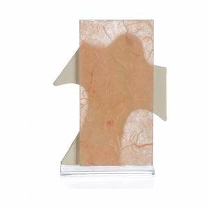 Cadre Croix Ste Famille ambre 11,5x8 cm s2