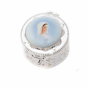 Caja redonda filigrana porcelana s3