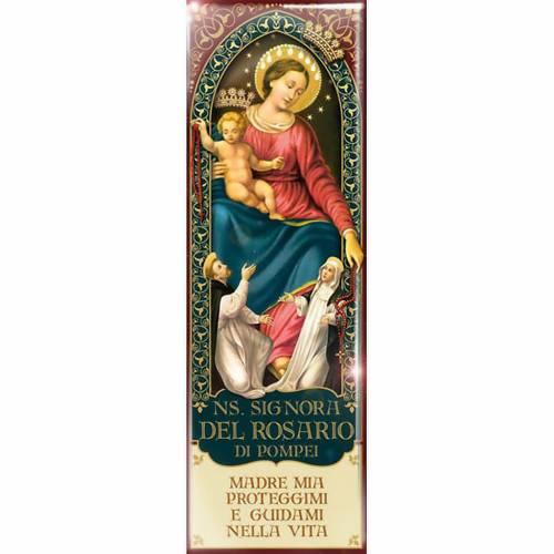 Magnete Madonna Ns. Signora del Rosario di Pompei - ITA 08 s1