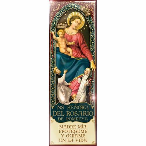 Magnete Madonna Ns. Señora del rosario de Pompeya - ESP 05 s1