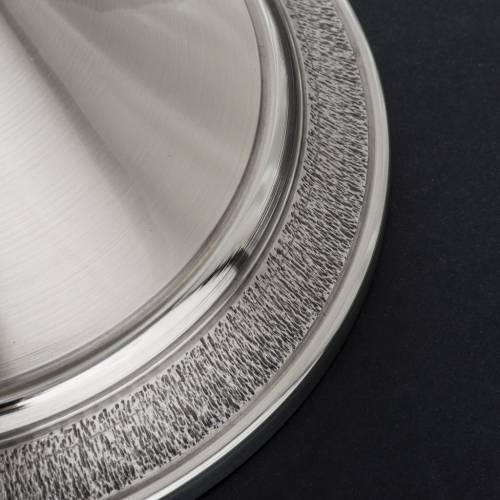 Calice ciboire laiton argenté miracles s11