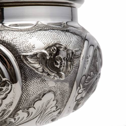 Calice e pisside argento 800 mod. Regolo s4