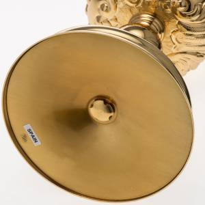 Calice Molina ottone dorato Gesù Giuseppe Maria s11