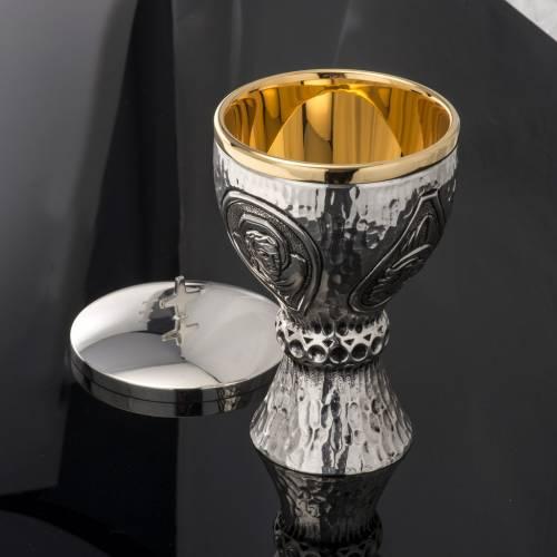 Calice pisside Molina ottone 4 evangelisti s10