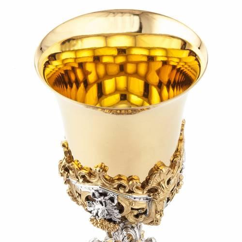 Cáliz plata y Copón dorado y plateado natividad s10