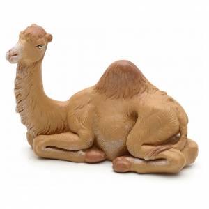 Animales para el pesebre: Camello sentado 12 cm Fontanini pvc