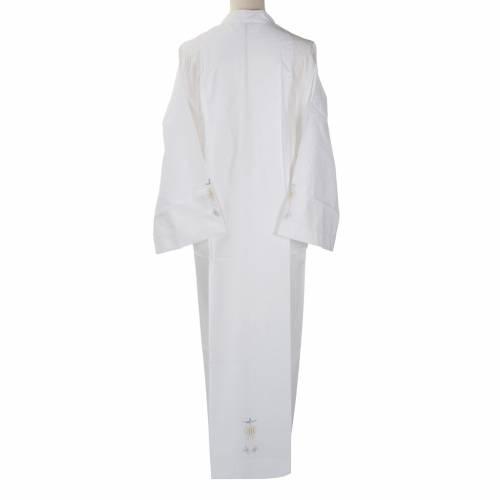 Camice bianco cotone ostia IHS Spirito Santo s3