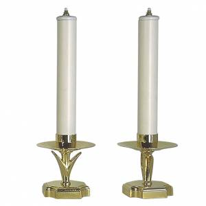 Candlesticks with fake candles and filters s1