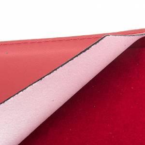 Carpeta portaritos de piel roja s4