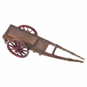 Cart for the Moranduzzo nativity, 10cm made in PVC s3