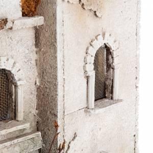 Ambientazioni, botteghe, case, pozzi: Casa araba con cupola e archi presepe