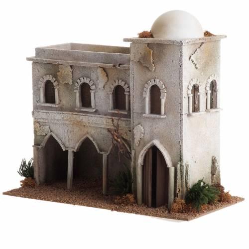 Casa araba con cupola e archi presepe s2