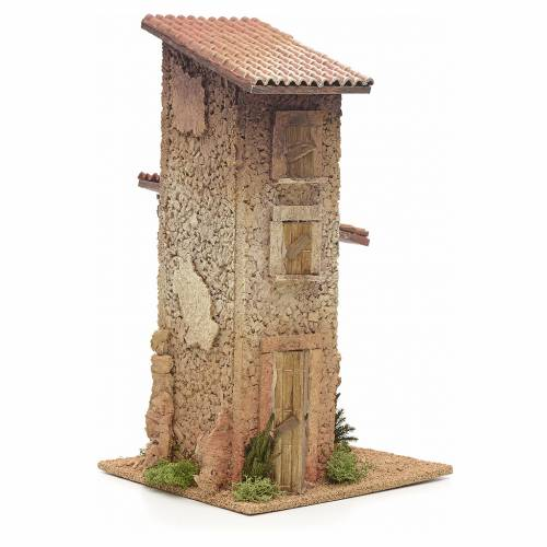 Casa rural doble 33x18x18 cm s2