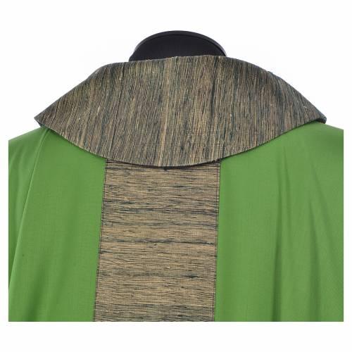 Casula 100% pura lana con riporto 100% pura seta s8