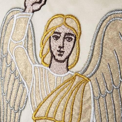 Casula con stolone angelo e Resurrezione s5