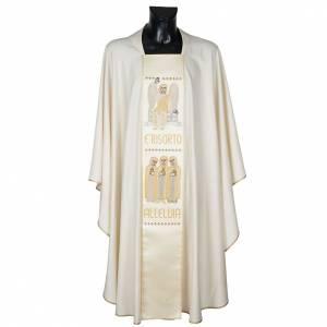 Casula con stolone angelo e Resurrezione s1