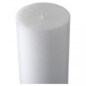Cero pasquale bianco croce antica s5