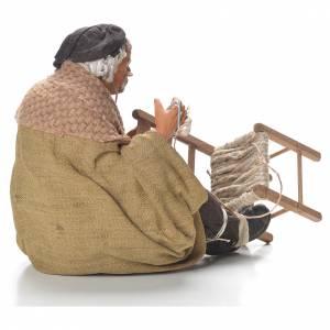 Chair fixer, Neapolitan Nativity 30cm s4