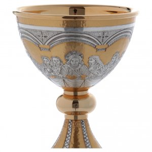 Chalice and paten Last Supper s4