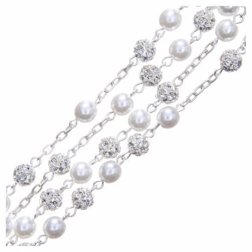 Chapelet argent 800 6 mm perle s3