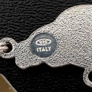 Chapelet en onyx noir rond en argent 925 s2