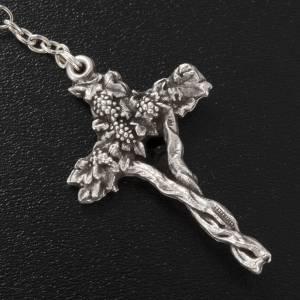 Chapelets Ghirelli Collection: Chapelet Ghirelli première Communion demi-cristal 5mm