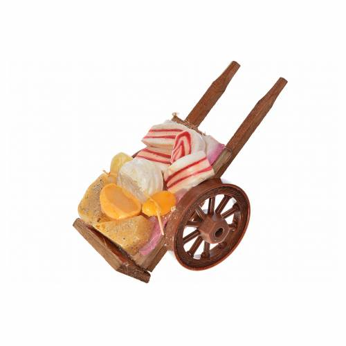 Char napolitain miniature charcuterie fromage 5x9x5 cm cire s2