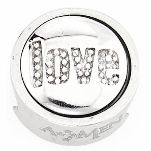 Charm per bracciale AMEN Love Amore s1