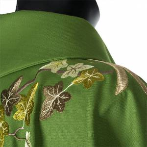 Chasuble and stole, ivy and pelican s13