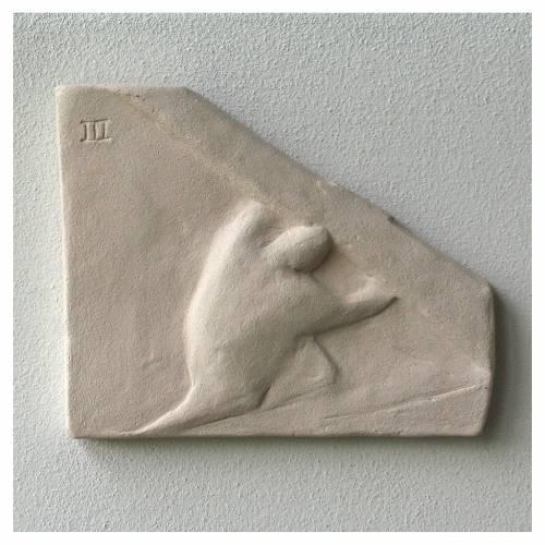 Chemin croix carreaux irréguliers 20x294 cm argile Ave s7