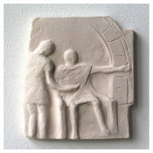 Chemin croix carreaux irréguliers 20x294 cm argile Ave s5